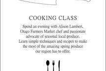 Foodies / Interesting Kiwi foodies, regional menus, cooking classes - whatever catches the eye!