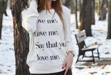 suéter y chamarras
