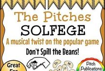Pitch / Ideas that reinforce pitch and solfege in the elementary music classroom.