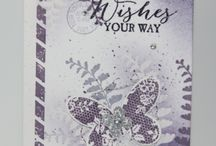 Stampin' Up! - Butterfly Basics / Stampin' up stamp set and card design