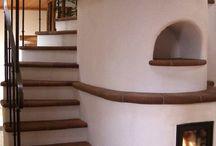 Stufe scala / Stair stove