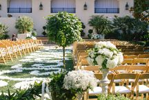 Estancia La Jolla Weddings / A premiere La Jolla hotel, Estancia features a beautiful early California rancho-style setting with elegantly appointed accommodations and luxurious amenities. Estancia La Jolla is a classic California-coastal rancho hotel set on nearly 10 acres in the seaside community of La Jolla. Located on the cliffs of Torrey Pines, Merilee Hennings and Alesha Ballón of EverAfter Events have creating breathtaking weddings at this venue.