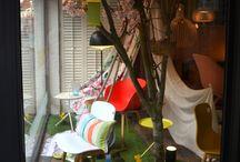Designers Guild Window Display Competition / Onze voorjaarsetalage heeft in Nederland de derde plaats behaald in de Europese 'Window Display Competition' van het prestigieuze Designers Guild.  Our Spring Window Display won the third price in the European 'Window Display Competition', organized by Designers Guild