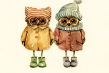 Owl by INGA PALTSER / http://vk.com/ingapaltser
