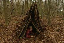 Lijn 3, thema 11, Een hut bouwen