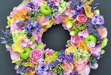 wreaths flowers ...