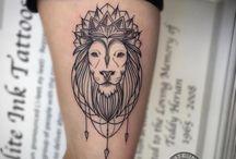 Löwen Tattoos