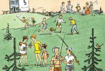 Детские книги / Обложки детских книг с отличными иллюстрациями и содержанием. - Что бы не потерять...