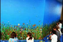 Art Room... Mural Ideas
