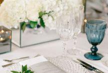 Blue & White Weddings