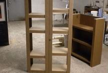 muebles-estantes de carton