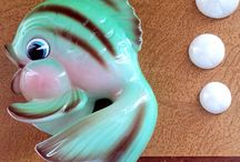 Fish Wall Plaques / by Linda VanTreese
