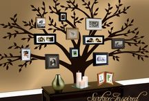 Family Room Wall / by Lisa @ Organize 365