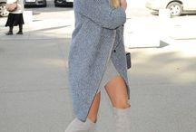 Płaszcz i kapelusz styl