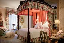 Elegant Bedrooms / Beautiful bedrooms of all kinds. / by Lady Rosabell