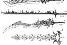 weapon sketch