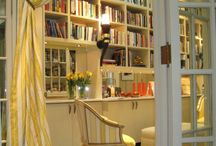 Bookshelves in my dream home / by Kristin Wilson