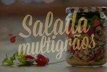Receitas saudaveis / Com alimentos organicos e integrais