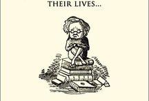 books. reading.