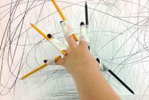Mark Making - Automatic drawing