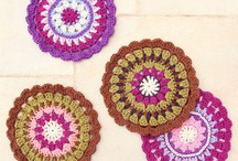 Colorful Crochet / Beautiful crochet works that highlight great use of multiple colors