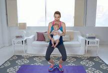 Exercícios em casa com filhos