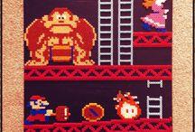 z - pixel art - Donkey Kong