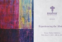 "Abstract Art: Online Exhibition / ""Experiencing the Abstract"" is a curated exhibition is of 58 artworks by 12 established and emerging artists from across India. The carefully selected collection touches upon Diverse themes and showcases different kinds of abstract art to present the viewers with a broad range of works."
