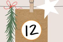 AED 12 Days of Giving 2017 / This holiday season, I am excited to bring back 12 days of designed giving. Follow me on Pinterest and check back each day to reveal a free digital stamp download. May these gifts inspire you to create something special and spirited this season. As an added BONUS, you can enter to WIN a $100 eGift voucher to my shop. (Full details in contest pin below)
