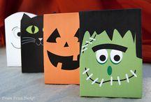 Sacs De Bonbons Halloween