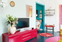 Colors Galore! / These colorful rooms are absolutely delightful!  / by Rug Pad Corner