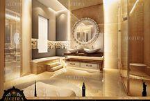 Bathroom Design / الكيدرا للتصميم الداخلي - تصاميم راقية