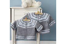 Crochet - kids sweaters, vests