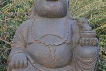 Happy Boeddha Beelden voor tuin en interieur