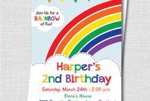 Invitaciones de fiesta de cumpleaños