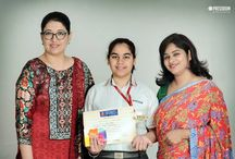 SHANYA, SURBHI & ARYAN ARE TIMES NIE STUDENTS OF THE YEAR