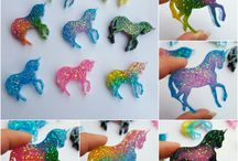 Resin creations (creazioni in resina)