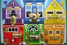 Brinquedos Madeira Educativos