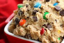 Cookiedough and Cookies / Cookie dough recipe
