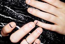 N A I L S / Nail: Art | Design | Fingers | Toes I love negative space nail designs !