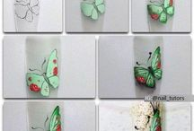 nail art pintura acrilica