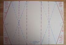 Special fold cards / special diy folder cards tutorial template
