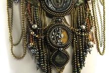Steampunk / Biżuteria, głównie koralikowa, w stylistyce steampunkowej.