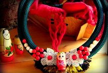 Russian Ispiration / handmade accessories with russian inspiration