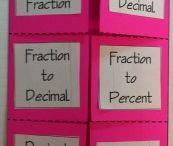 Math foldables