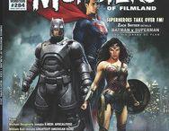 Famous Monsters of Filmland Cover / Famous Monsters of Filmland cover  Batman v Superman 2016