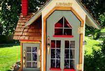 Little Free Libraries.