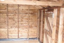 DiY Wood Panel Garage