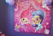 Shimmer and Shine 5th birthday party