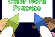 Sight words! / Activities and links to sight word practice.